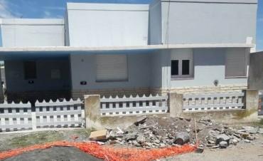 Etapa final de la obra de remodelación del Centro de Salud de Recalde