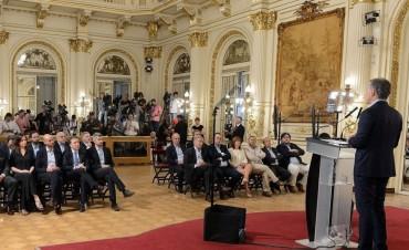 El presidente Macri reglamentó el nombramiento de familiares