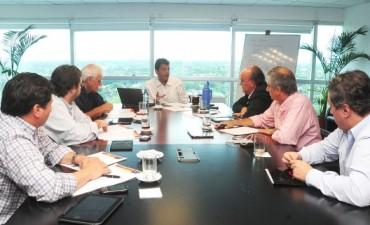 José Eseverri acompañó a Sergio Massa en una reunión con el equipo económico del Frente Renovador