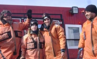 Un científico olavarriense en la Antártida