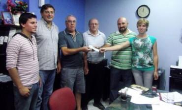 Abarca entregó $400 mil en subsidios en Olavarría