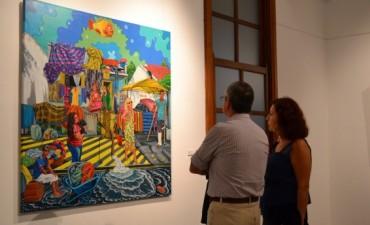 Se inauguraron las muestras Arte Único y el Concurso Provincial de Pintura
