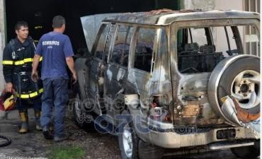 Incendiaron la casa del hombre que mató a su ex en el bingo de Olavarría
