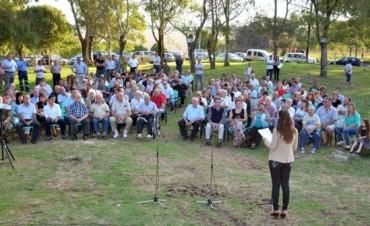 Sierras Bayas celebró los 95 años del primer despacho de cemento en el partido de Olavarría