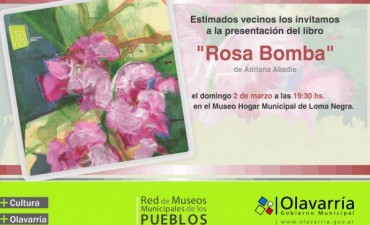 """Presentación del libro """"Rosa Bomba"""""""