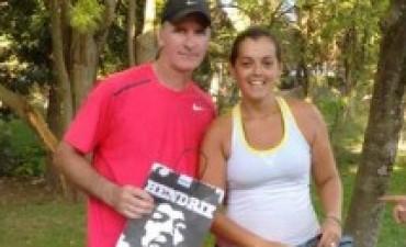 Cristian Yungblut y Valeria Tolosa, campeones en Sierras Bayas