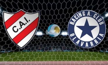 Independiente de Neuquén y Racing de Olavarría jugarán este domingo a las 17.30