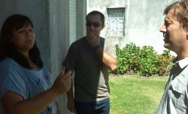 Santellán continúa con recorridas por barrios y localidades