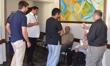 Nuevos cruces por el sector de Rayos del Hospital