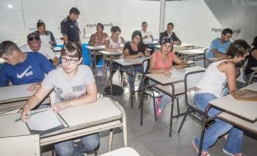 Azul: comenzó la evaluación para aspirantes a la Policía Local