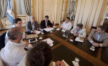 Reforma Política: reunión de Frigerio y Adrián Pérez con ONG