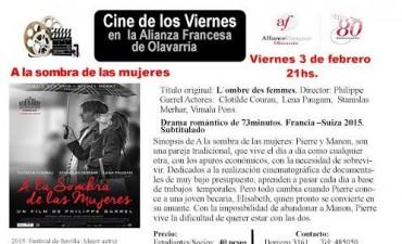 Cine en la Alianza Francesa