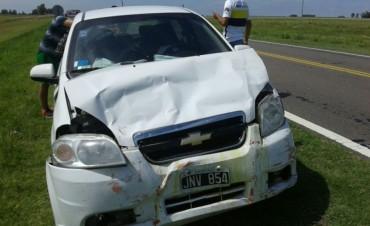 Fuerte accidente en Ruta 226
