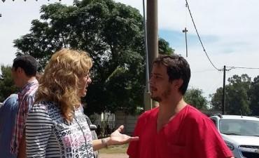 La diputada Lordén participó del anuncio de mejoras para el barrio Saladillo Norte
