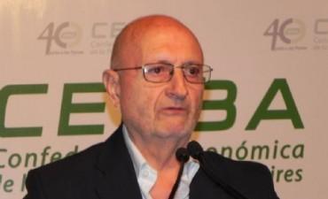 Benassi: 'el sector  productivo está amesetado'