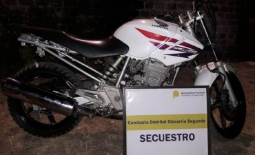 Un imputado tras el secuestro de una moto