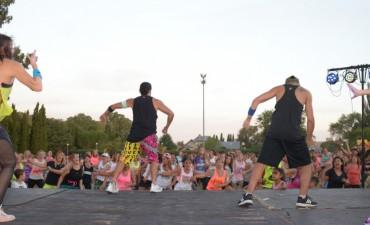 Unas 500 personas participaron de la Maratón de fitness