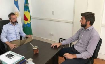 Acto Oficial del Día de la Mujer: Bruno Cenizo se reunió con el Senador Dalton Jáuregui