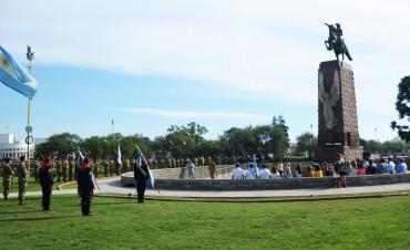 Acto por el natalicio del General San Martín