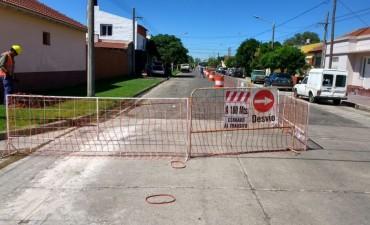 Liberación al servicio público de la red cloacal en barrio Luján