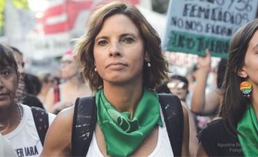 Mariana Carbajal llegará a Olavarría en las Jornadas por el Día de la Mujer