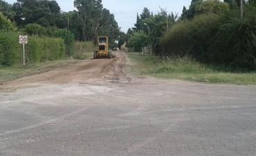 El Municipio continúa con el mejoramiento de calles