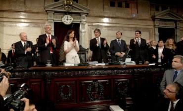 La presidenta habló casi tres horas en la Asamblea Legislativa