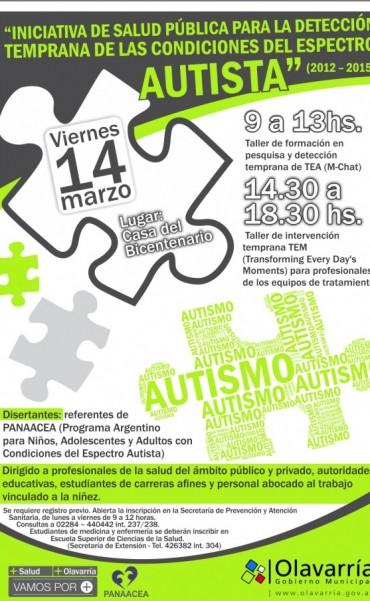 Jornada de capacitación en detección e intervención para las Condiciones del Espectro Autista