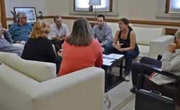 El intendente en reunión con Delegados Municipales