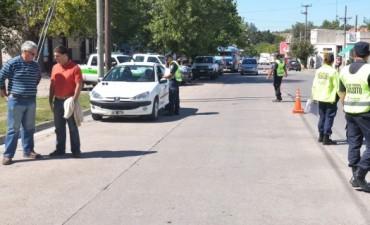 El Gobierno Municipal continúa con los controles de tránsito