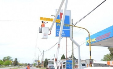 Renovación de semáforos