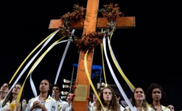 """Llega la """"Cruz de los Jóvenes"""" a Olavarría"""