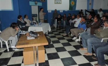 El Diputado Abarca en un acto en Tapalqué