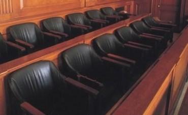 Ya tiene fecha el primer juicio por jurados del Departamento Judicial