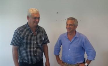 José Eseverri se reunió con Guillermo Illia, sobrino del expresidente