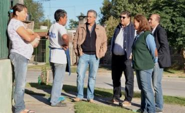 Finaliza la obra de pavimentación en el barrio Nicolás Avellaneda