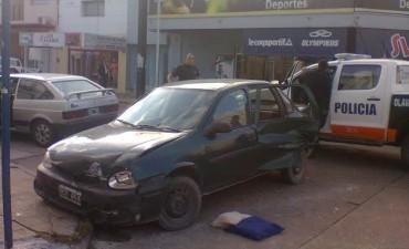 Accidente en Necochea y Moreno