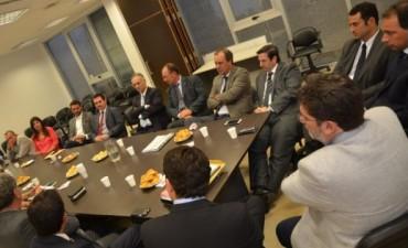 Diputados se reunieron con representantes del Colegio de Magistrados bonaerense