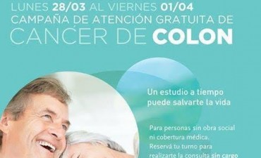 Prevención de Cáncer de Colon: Campaña de atención gratuita