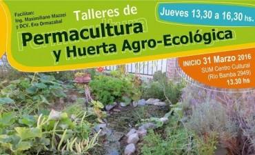 """Talleres de """"Permacultura y Huerta agro-ecológica"""""""