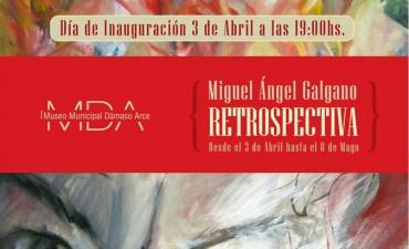 """Inaugura la muestra """"Retrospectiva"""" en el Dámaso Arce"""