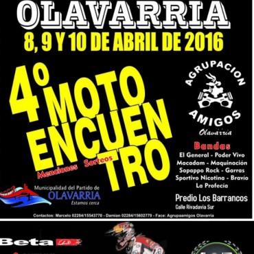 4to Motoencuentro en Olavarría