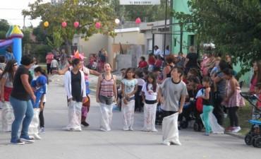 Fiesta de Pascua en el barrio Nicolás Avellaneda