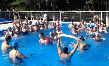 Acquagym y natación para adultos