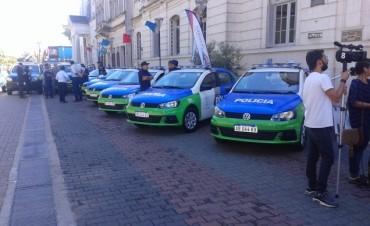 Hauswagen: 'renovamos el espíritu de servicio que tenemos para atender estos móviles' policiales