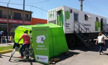 #IndioEnOlavarría: operativo sanitario
