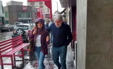Aníbal Fernández en Olavarría para ver al Indio Solari