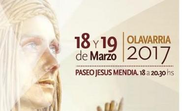 Tercer encuentro de estatuas vivientes en Olavarría