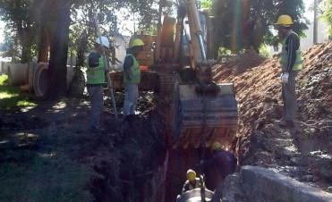 En el barrio Eucaliptus comenzaron las obras