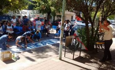 Suteba Olavarría concretó una nueva jornada de lucha